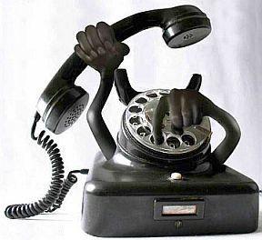 telefoon belt niet